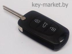 Ключ (корпус) Hyndai i10, i20, ix20, i30, ix35