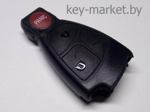Ключ (корпус) Mercedes 3+1 кнопки