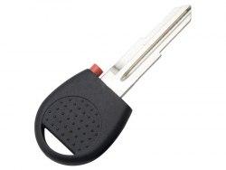 Ключ с местом под чип (заготовка) Chevrolet Левое лезвие