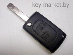 Ключ (корпус) Citroen C1, C2, C3