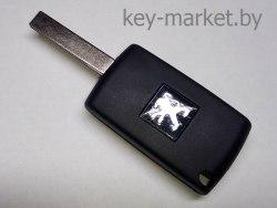 Ключ (корпус) Peugeot 307