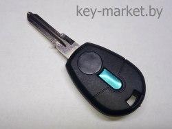 Ключ с местом под чип (заготовка) Fiat