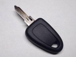 Ключ с местом под чип (заготовка) Fiat разборный корпус