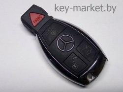 Ключ (корпус) Mercedes Рыбка хром