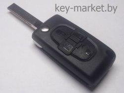 Ключ (корпус) Peugeot 807