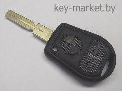 Ключ (корпус) BMW E36, E38, E39 3 кнопки