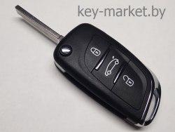 Ключ (корпус) Citroen C5