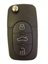 Ключ Audi 3 кнопки