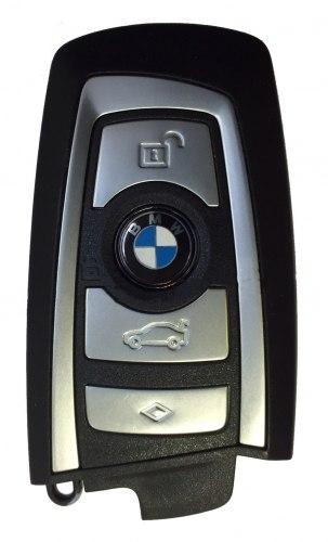 Ключ BMW F-серия серебристый