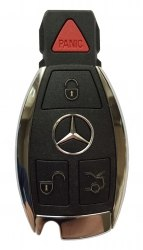 Ключ Mercedes 3 кнопки +panic