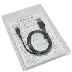 HDMI Splitter 1*2 1080P (из 1-HDMI в 2-HDMI) Сплиттер 1х2 Питание от USB