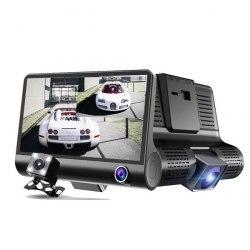 Автомобильный видеорегистратор XPX P10 с 3 камерами