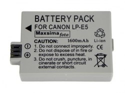 Аккумулятор для фотоаппарата Canon LP-E5, LPE5