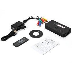 Видеозахват по HDMI или AV RCA(тюльпанам) EzCap 1080P оцифровщик видео HDMI - USB внешнее устройство видеозахвата HDMI