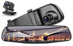 Зеркало-видеорегистратор Vehicle Blackbox DVR Full HD +камера заднего обзора