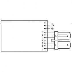 ЭПРА OSRAM QT-M 2x26-42 /220-240 S - QUICKTRONIC® для компактных люминесцентных ламп DULUX D/E, T/E 2x26 - 42