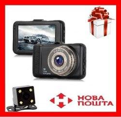 Видеорегистратор Т 659 + 2 камерами Full HD 1080p