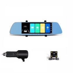 Видеорегистратор в зеркале 7 дюймов цветной экран Ardax C16 2 камеры Full HD