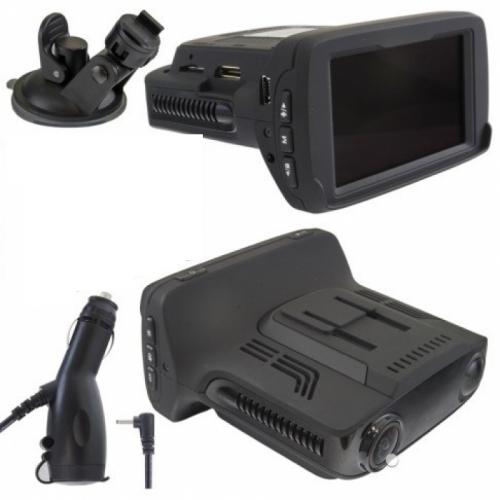 Видеорегистратор с радар-детектором и антирадаром 4К XPX G525-STR