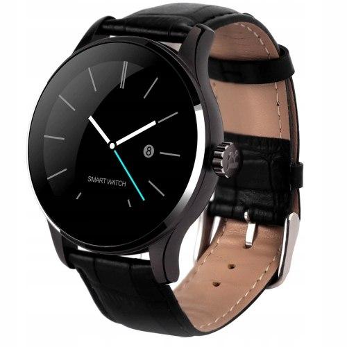 Часы Makibes K88H черная кожа