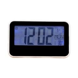 Дигитальные часы-будильник с подсветкой срабатывающей от хлопка в ладоши DS-2618