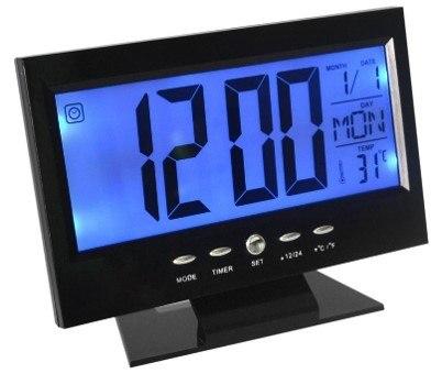 Дигитальные часы-будильник DS-8082