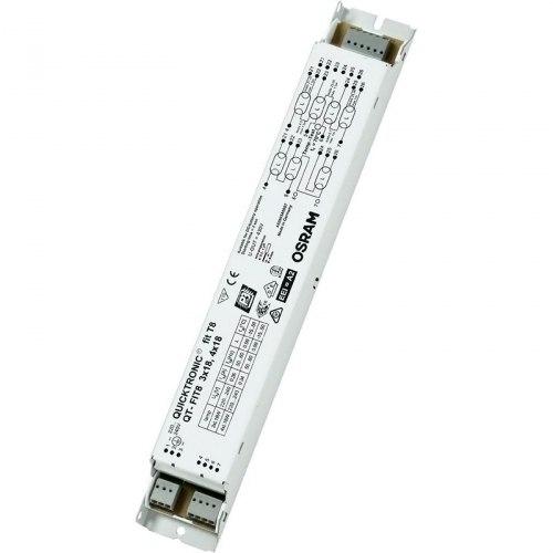 ЭПРА Osram QT-FIT8 3x18, 4х18 для люминесцентных ламп T8