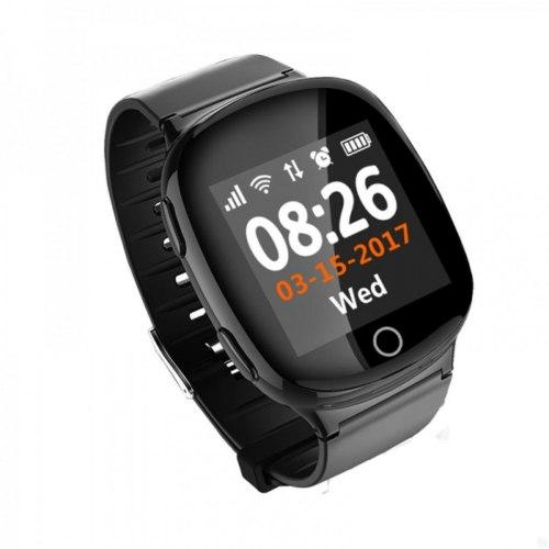 Детские часы с GPS-трекером Smart Baby Watch D100S (Черный)