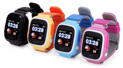 Детские GPS часы Smart Baby Watch Q90 цвета