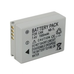 Аккумулятор для Canon NB-7L для PowerShot G10, PowerShot G11, PowerShot G12, PowerShot SX 30 IS