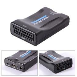 Конвертер SCART to HDMI (из скарт в hdmi ) преобразователь, переходник