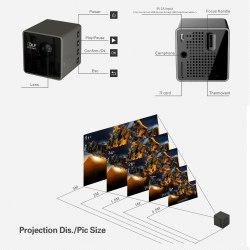 Мультимедийный микро проектор Unic P1 Wi-Fi