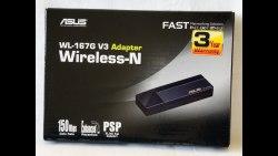 Wi-Fi Адаптер Asus WL-167G-V3 802.11n 150Mbps 2.4GHz WEP WPA WPA2 USB 2.0(WL-167G-V3) Asus WL-167G-V3