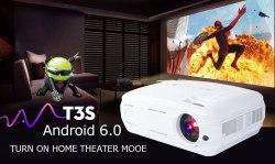 Проектор TouYinger T3S версия с Android и WiFi