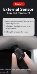 Система контроля давления в шинах TPMS, датчик давления в шинах 4шт комплект