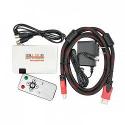Преобразователь из HDMI - в антенный ВЧ сигнал, модулятор