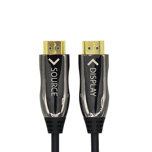 Кабель HDMI 50м ver. 2.1 8K оптический (50 метров, гибридный оптоволокно+медь)