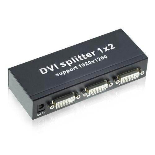 Разветвитель DVI (DVI-D) 1x2 (DVI на 2 порта)