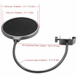 Поп фильтр для микрофона универсальный POP filter