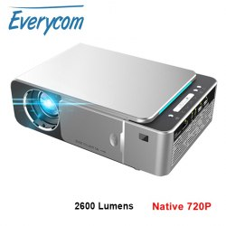 Проектор Everycom T6 LED WiFi