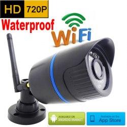 Уличная wifi ip камера с записью на карту памяти 1280x800 720p