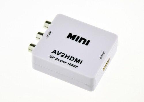 Конвертер (переходник) с AV (тюльпаны RCA) на HDMI