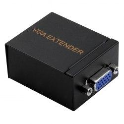Удлинитель VGA по витой паре 60м 60 метров по одному UTP