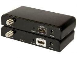 Удлинитель HDMI по коаксиальному (антенному) кабелю 700м