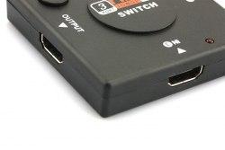 Переключатель HDMI Switch 3x1 (из 3-X HDMI в 1-HDMI) свич
