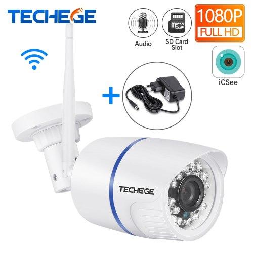 Techege 1080 P HD WI-FI IP Камера аудио запись Водонепроницаемый Nignt vision
