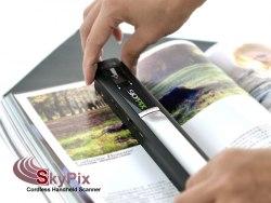 Беспроводной ручной сканер SkyPix TN410 LCD 900dpi портативный