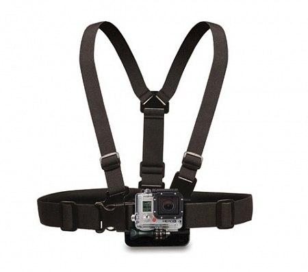 Крепление на грудь / спину GoPro, Sjcam, Xiaomi Yi