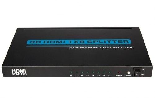 HDMI Splitter 1*8 1080P (из 1-HDMI в 8-HDMI)