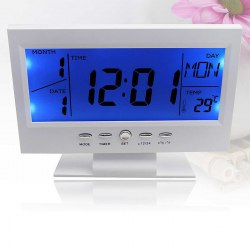 Часы настольные электронные цифровые с подсветкой DS-8082